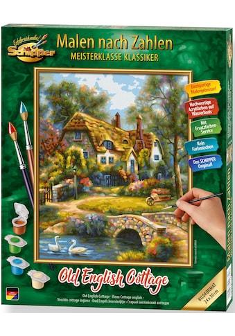 Schipper Malen nach Zahlen »Meisterklasse Klassiker - Old English Cottage«, Made in... kaufen