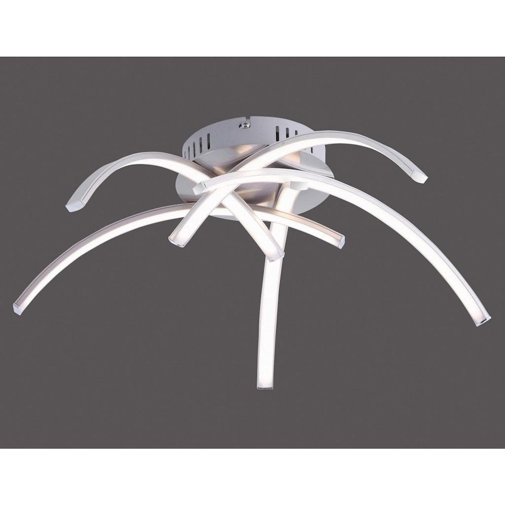 Leuchten Direkt Deckenleuchte »VALERIE«, LED-Board, Warmweiß, inklusive festverbautem LED-Leuchtmittel