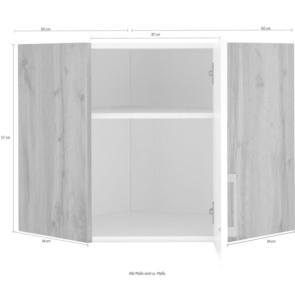 HELD MÖBEL Eckhängeschrank »Colmar«, 60 x 60 cm, mit Metallgriff