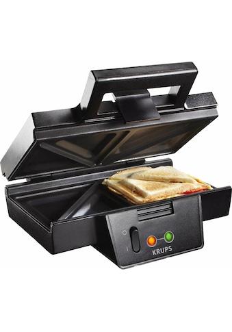 Krups Sandwichmaker »FDK451«, 850 W, Antihaftbeschichtete Platten kaufen