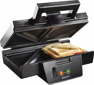 krups sandwichmaker fdk451 sandwich toaster 850 watt auf. Black Bedroom Furniture Sets. Home Design Ideas