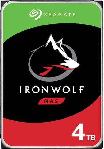 Seagate HDD-NAS-Festplatte »IronWolf«, Bulk, inkl. 3 Jahre Rescue Data Recovery Services kaufen