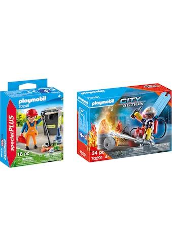 Playmobil® Konstruktions-Spielset »Straßenreiniger (70249), Special Plus und... kaufen