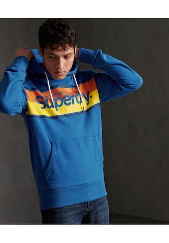 Superdry Kapuzensweatshirt »CORE STRIPE HOOD« kaufen