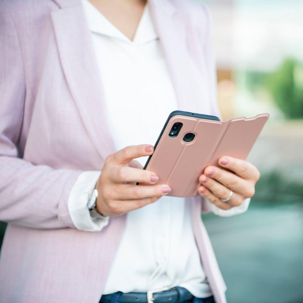 """Hama Handytasche »Smartphone-Booklet Tasche«, """"Single2.0"""" für Xiaomi Redmi 9, Rosa"""