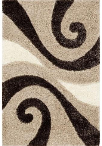 Hochflor - Teppich, »Space Shaggy«, OCI DIE TEPPICHMARKE, rechteckig, Höhe 50 mm, handgetuftet kaufen