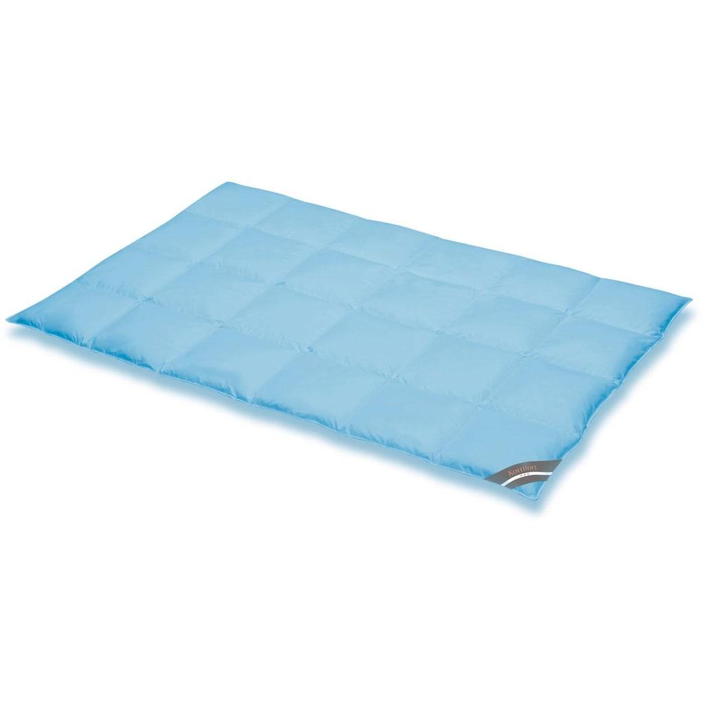 SPESSARTTRAUM Daunenbettdecke »Komfort«, warm, Füllung 60% Daunen, 40% Federn, Bezug 100% Baumwolle, (1 St.), hergestellt in Deutschland, allergikerfreundlich