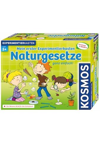 Kosmos Experimentierkasten »Mein erster Experimentierkasten Naturgesetze«, Made in Germany kaufen