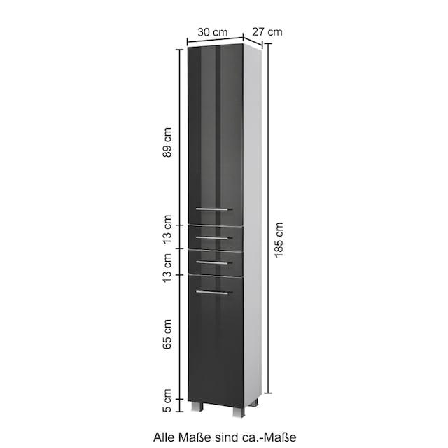 HELD MÖBEL Seitenschrank »Trento«, Breite 30 cm