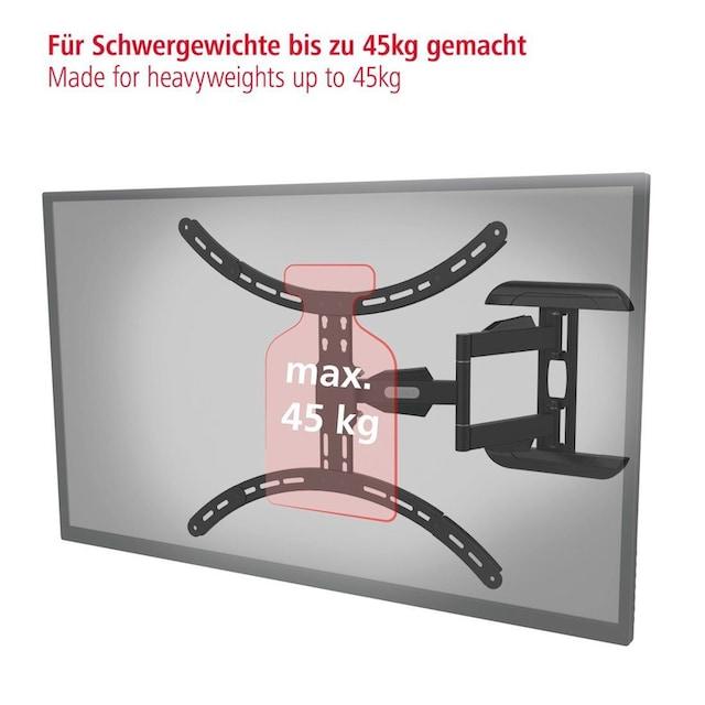 Hama TV-Wandhalter schwenkbar 165cm (65 Zoll), 140cm (55 Zoll) »124 (49 Zoll), FULLMOTION«