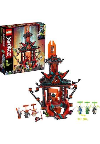 "LEGO® Konstruktionsspielsteine ""Tempel des Unsinns (71712), LEGO® NINJAGO®"", Kunststoff, (810 - tlg.) kaufen"