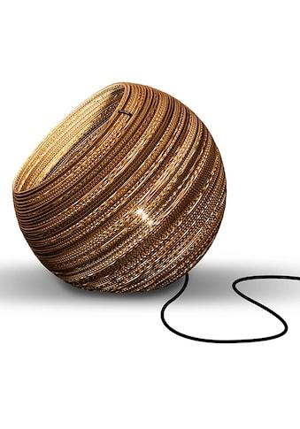 think paper Tischleuchte »Globe 290«, E27, 1 St., Wohnleuchten aus Papier, Hänglampe, Hängleuchte aus Pappe, stylische Papierleuchten kaufen
