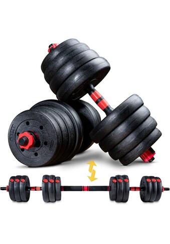 Sportstech Hantel »AH150, 40kg«, 43 kg, (Spar-Set, 19 tlg., mit Langhantelstange) kaufen