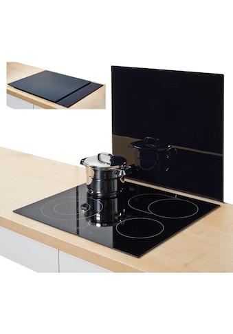 Zeller Present Herdblende-/Abdeckplatte »XL«, Silikonfüßen kaufen