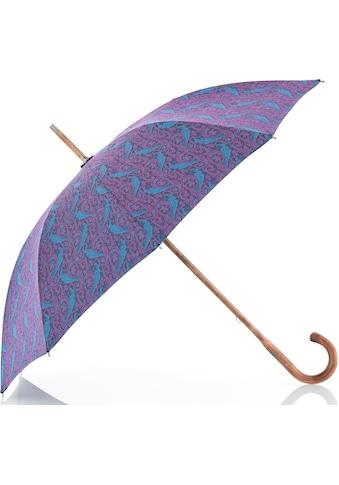 "doppler MANUFAKTUR Stockregenschirm ""Norfolk Cottage, paisley pink"" kaufen"