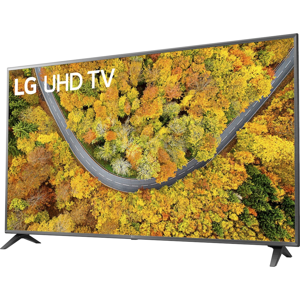 """LG LCD-LED Fernseher »75UP75009LC«, 189 cm/75 """", 4K Ultra HD, Smart-TV, LG Local Contrast-Sprachassistenten-HDR10 Pro"""