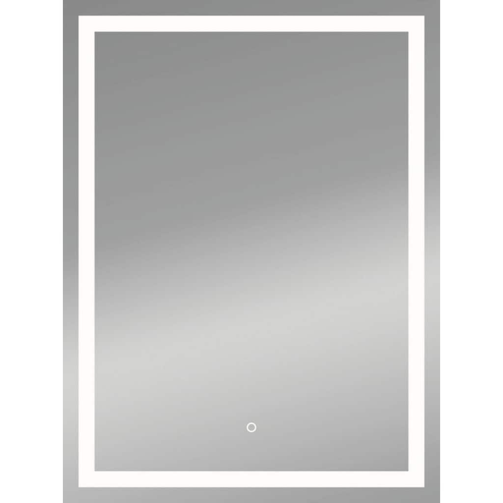 KRISTALLFORM Spiegel »FrameLight II«, 50 x 70 cm, LED Beleuchtung mit Touch-Bedienung