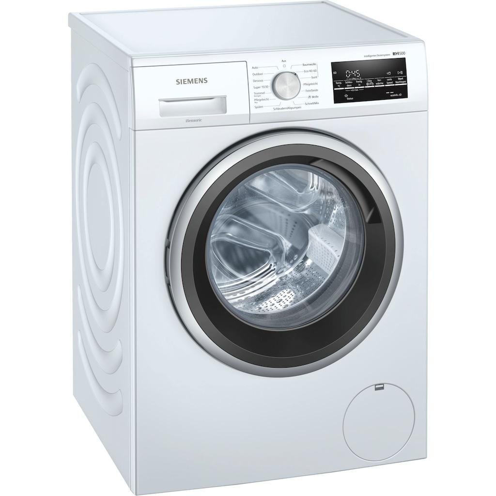 SIEMENS Waschmaschine »WM14US70«, iQ500, WM14US70, 9 kg, 1400 U/min