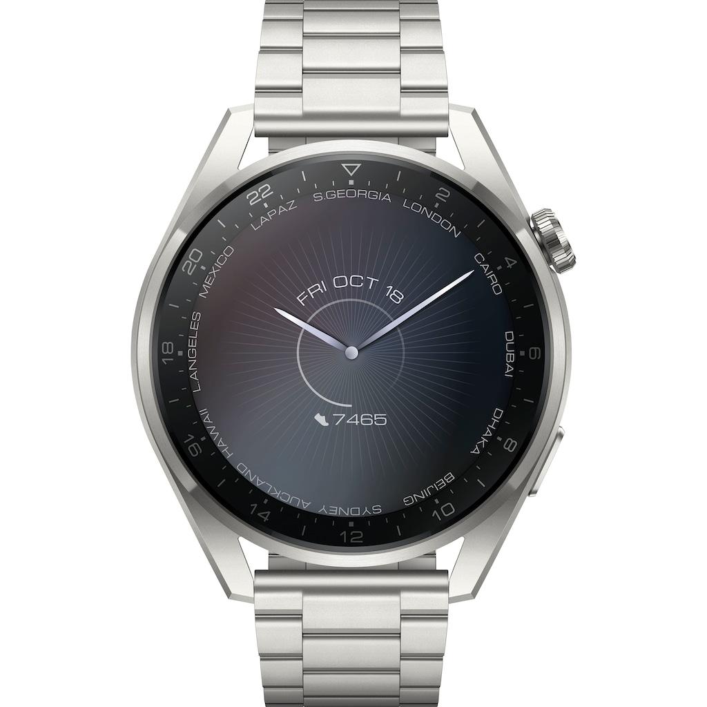Huawei Smartwatch »WATCH 3 Pro Elite Galileo-L50E«, (Harmony OS)