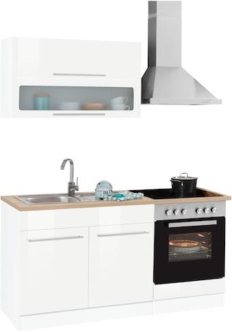 HELD MÖBEL Küchenzeile »Eton«, ohne E - Geräte, Breite 160 cm kaufen