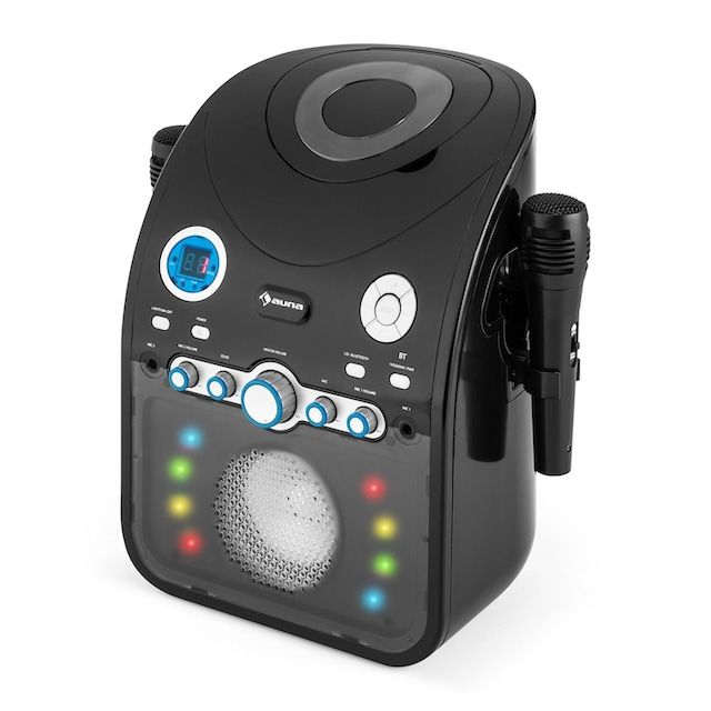 Auna Kinder Karaokeanlage CD Player Bluetooth AUX LED-Lichteffekt »Starmaker«