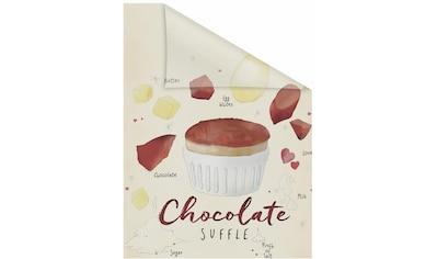 Fensterfolie, »Chocolate«, LICHTBLICK, blickdicht, strukturiert kaufen