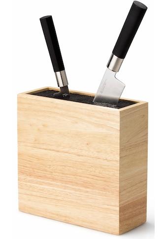 Continenta Messerblock, 1 tlg., flexibler Einsatz, Hartholz kaufen
