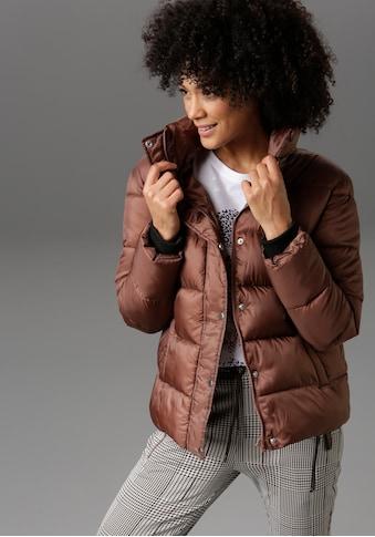 Aniston CASUAL Steppjacke, im trendigen Two-tone-Dessin - NEUE KOLLEKTION kaufen
