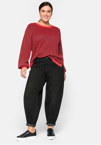 Sheego Stretch-Jeans, mit High-Waist-Bund kaufen