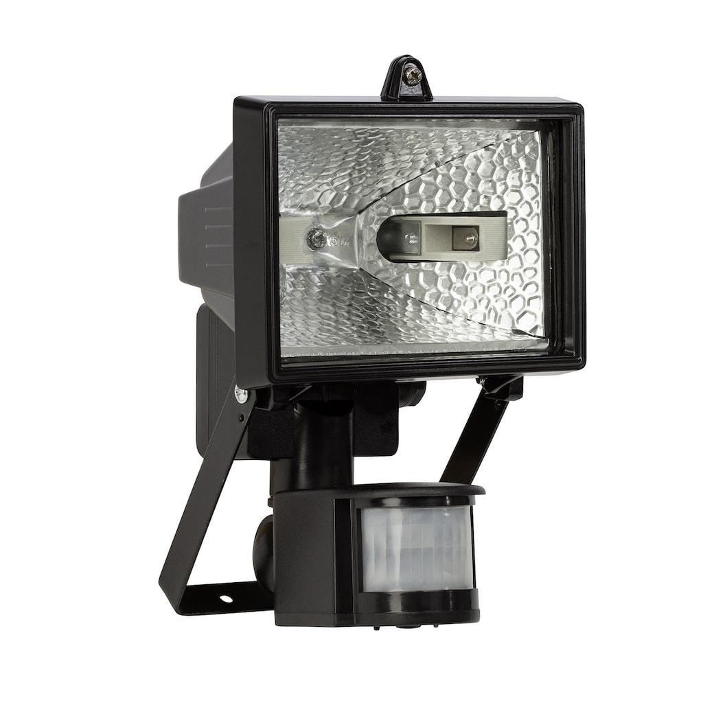 Brilliant Leuchten Tanko Außenwandstrahler 22cm Bewegungsmelder schwarz