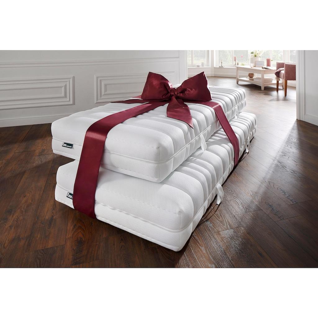 fan Schlafkomfort Exklusiv Taschenfederkernmatratze »Pro Vita Top T«, 544 Federn, (Spar-Set, 2 St., 2-tlg.), sehr gute Entlastung im Schulterbereich
