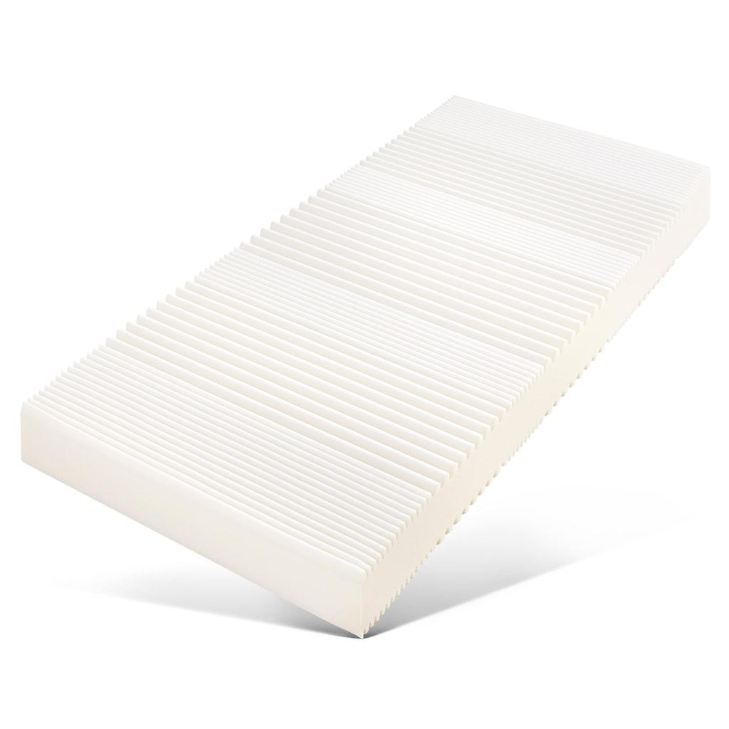 fan Schlafkomfort Exklusiv Komfortschaummatratze »ProVita Flex 21 S«, (Spar-Set, 2 St., 2-tlg.), ideale Luftzirkulation durch Belüftungskanäle