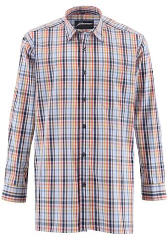 ALBATROS Hemd »Bronze 1/1«, Langarm, bunt - kariert kaufen