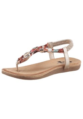 2GO FASHION Sandale, mit modischen Schmuckapplikationen kaufen