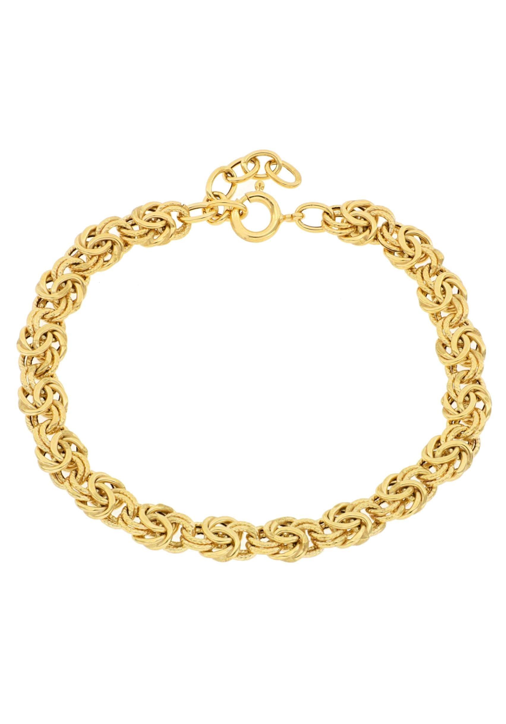 Firetti Königsarmband »7,4 mm breit, glanz, ziseliert« | Schmuck > Armbänder > Königsarmbänder | Firetti