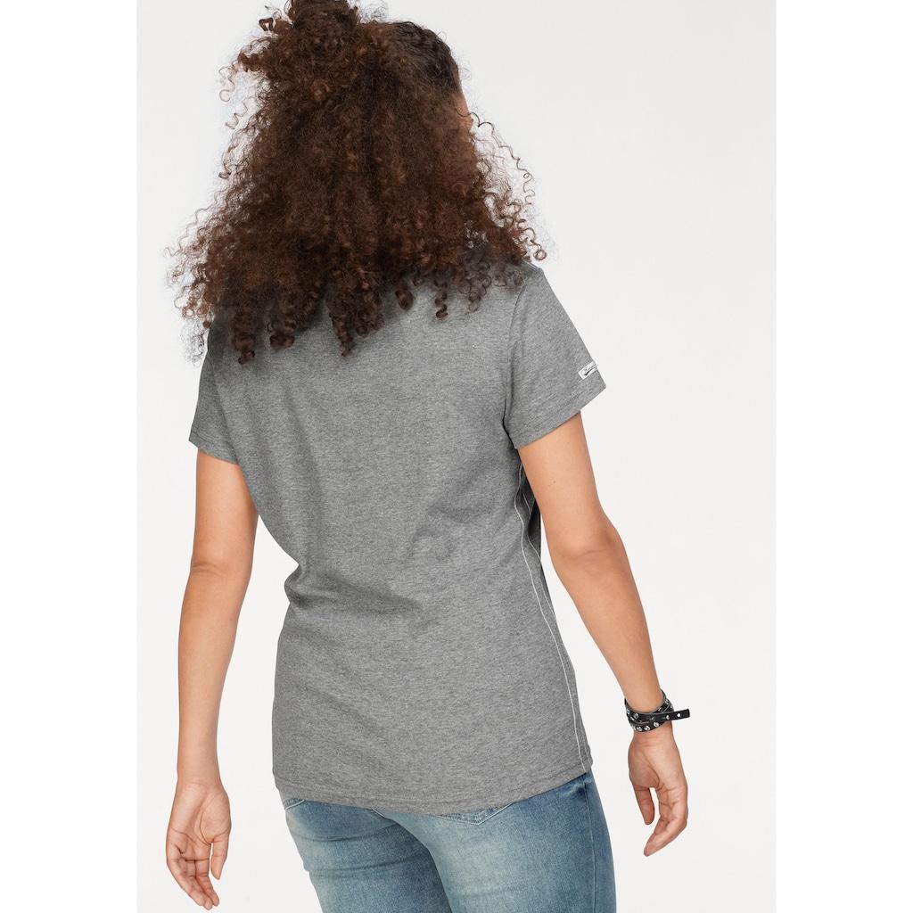 KangaROOS T-Shirt, mit großem Flaggen-Front-Print