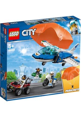 """LEGO® Konstruktionsspielsteine """"Polizei Flucht mit dem Fallschirm (60208), LEGO® City"""", Kunststoff, (218 - tlg.) kaufen"""