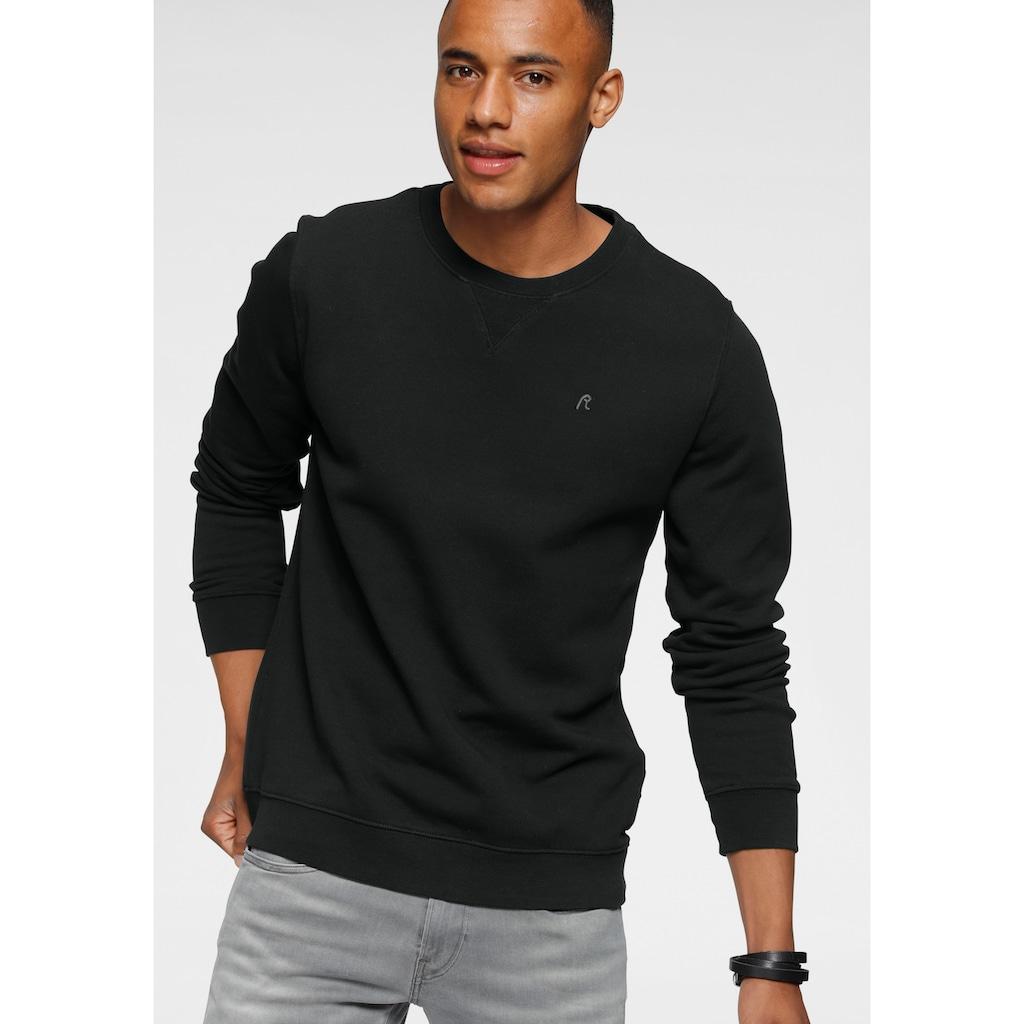 Replay Sweatshirt, mit Markenstickerei