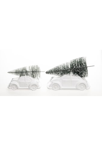 VALENTINO Wohnideen Dekoobjekt »CHRISTMAS CAR« (Set, 2 Stück) kaufen