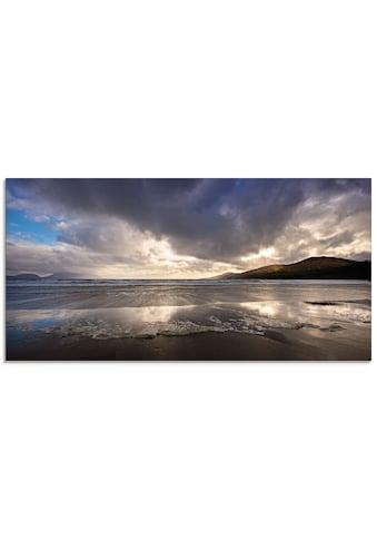 Artland Glasbild »Strandliebe II« kaufen