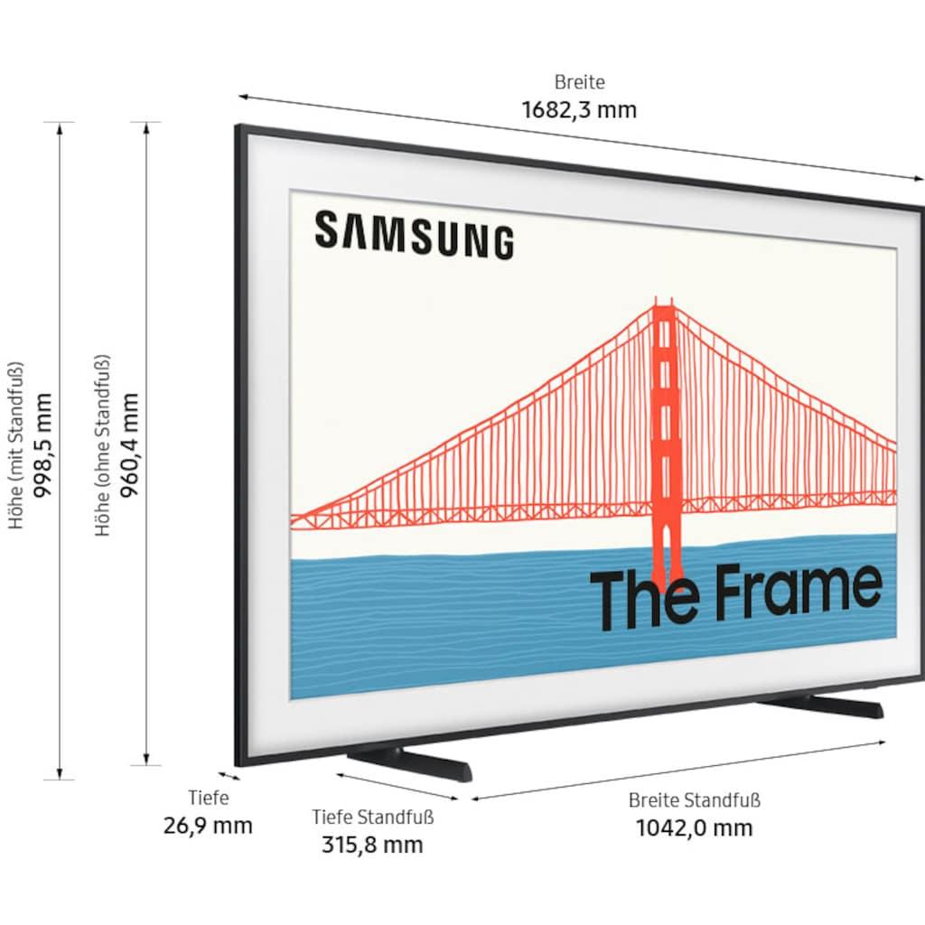 "Samsung QLED-Fernseher »GQ75LS03AAU ""The Frame""«, 189 cm/75 "", 4K Ultra HD, Smart-TV"
