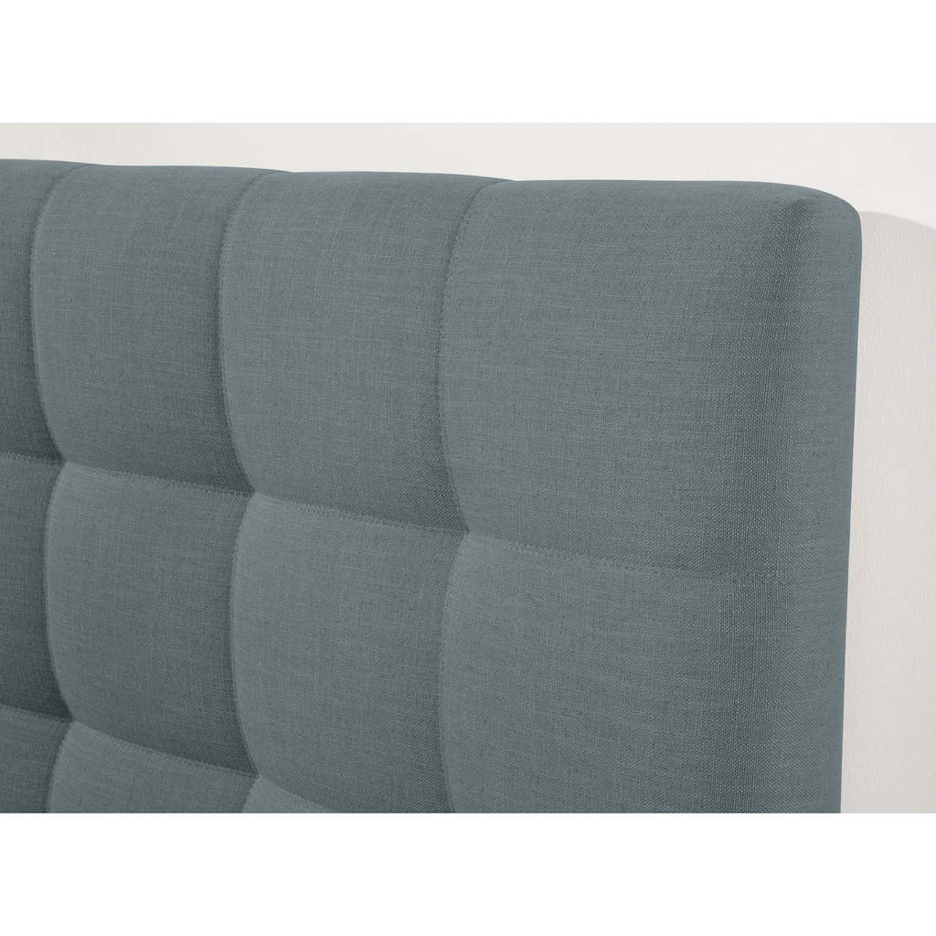 Schlaraffia Boxspringbett »Aida«, inklusive GELTEX®-Topper, Metallfuß in chrome