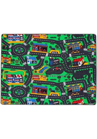 Primaflor-Ideen in Textil Kinderteppich »CITY«, rechteckig, 5 mm Höhe,... kaufen