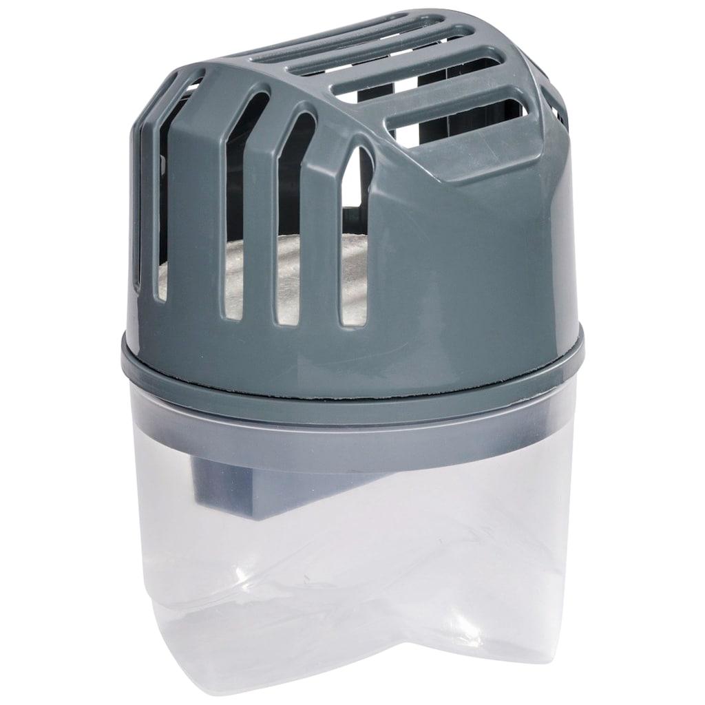 WENKO Luftentfeuchter »Feuchtigkeitskiller Grau«, für 20 m³ Räume, inklusive 4 Nachfüller