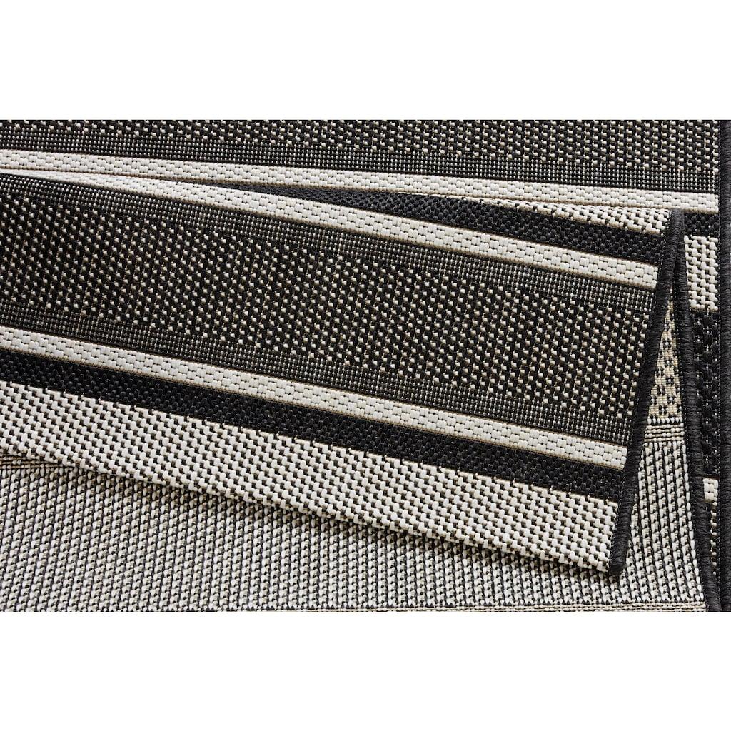 bougari Läufer »Strap«, rechteckig, 8 mm Höhe, Flachgewebe