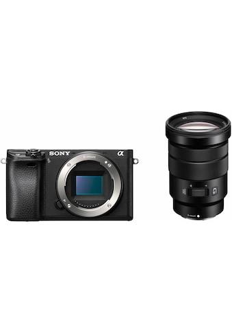 Sony Systemkamera »ILCE6300GBDI«, SELP18105G, NFC-WLAN (Wi-Fi), HDR-Aufnahme kaufen
