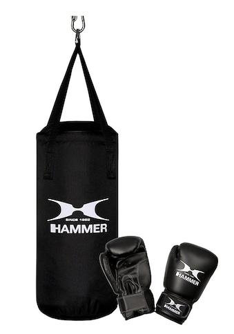 Hammer Boxsack »Junior«, (Set, 2 tlg., mit Boxhandschuhen) kaufen