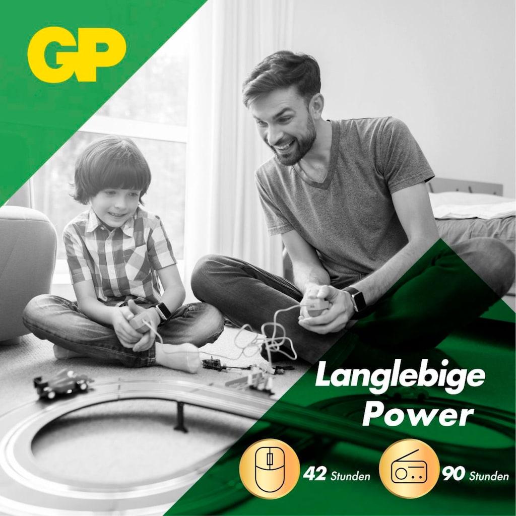 GP Batteries Batterie »Super Alkaline AA«, LR06, 1,5 V, (Set, 4 St.)