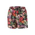 Aniston CASUAL Shorts, mit exotischen Blüten und Blättern bedruckt