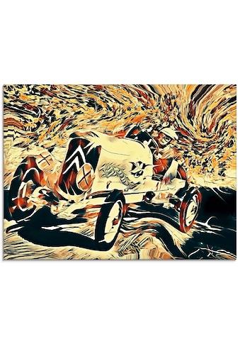 Artland Glasbild »Autos aus Frankreich: Citroën«, Auto, (1 St.) kaufen